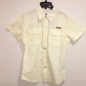 Women's Columbia Titanium Bonehead SS Shirt NWT M